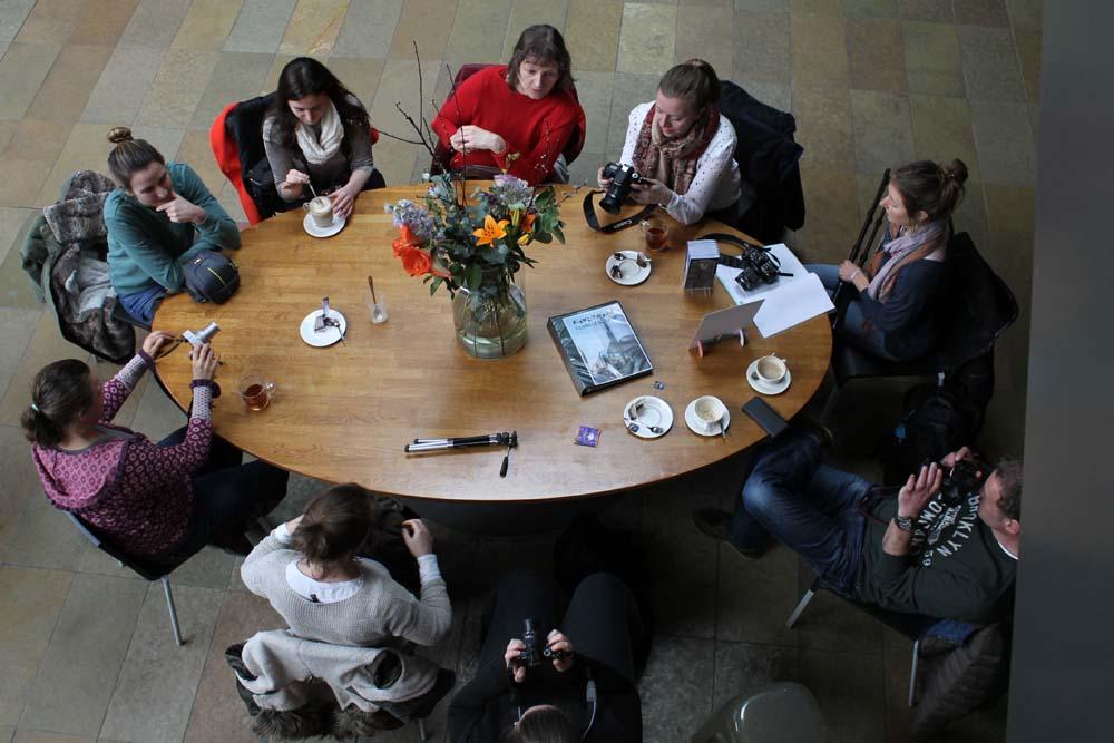 Mentorgroep Fotografiedocent Marijke Diel
