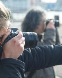 op locatie fotograferen